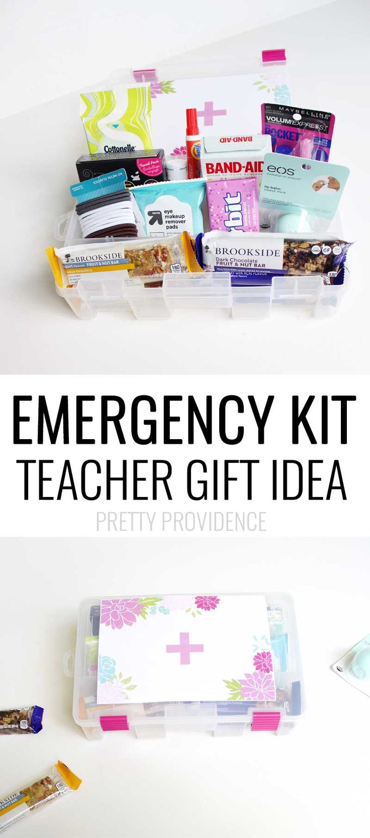 TEACHER Emergency Kit!!! Practical and awesome teacher gift!!   #ad #shareyourBROOKSIDE