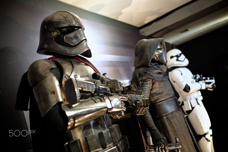The Dark Side - Spotted at the Star Wars: The Force Awakens exhibit in Toronto.