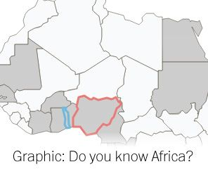 Many of Africa's leaders will be in town next week attending a White House summit. The continent's land is shared among 49 countries — many of which rarely make U.S. headlines. How familiar are you with Africa's geography?