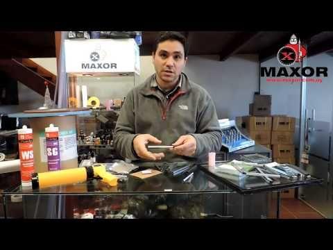 Fabricación manual de termopanel - YouTube