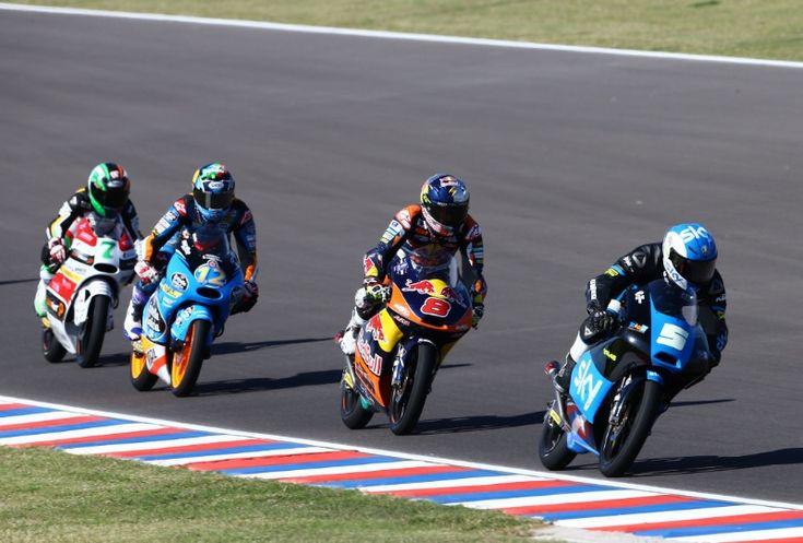 Fenati, Moto3 race, Argentinian MotoGP 2014