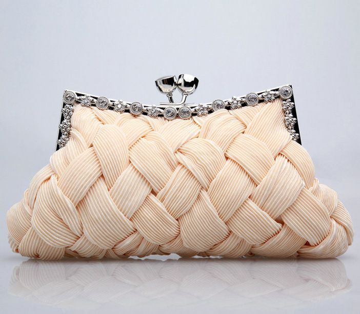 Every lady needs a good clutch. I believe they look more elegant than a wristlet, just remember to always keep it with you.