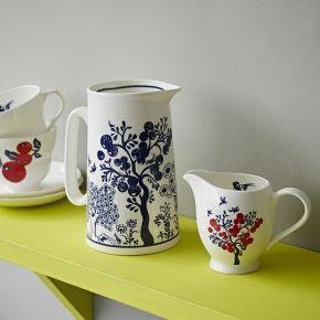 Louise Wilkinson large jug & milk jug