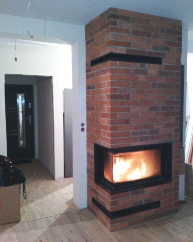 N132 Nowoczesne Kominki Kominki Gp Bbq House House Design Fireplace