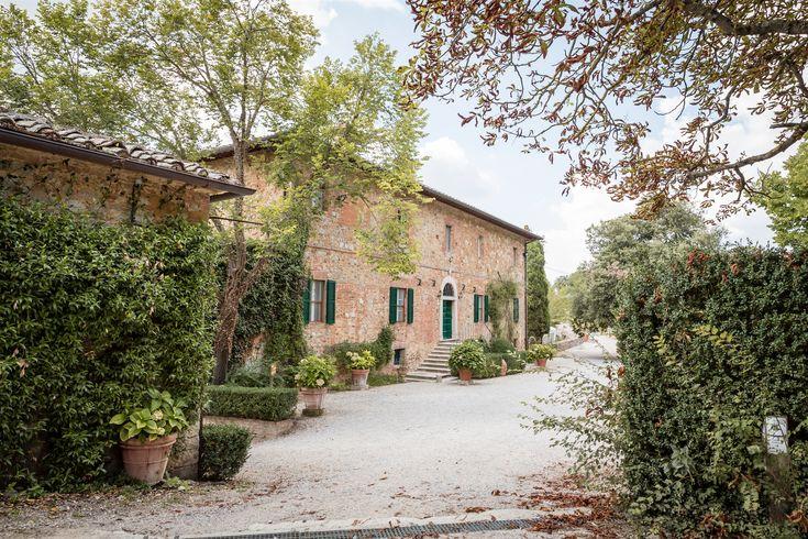 Vår nydelige vingård i Toscana hvor man kan overnatte, gifte seg og ha bryllupsmiddagen - Italienske bryllup.