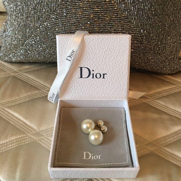 BNIB!! Authentic Christian Dior Tribal earrings Brand new with box authentic Christian Dior Mise en Dior tribal earrings. Come with box and pouch Dior Jewelry Earrings