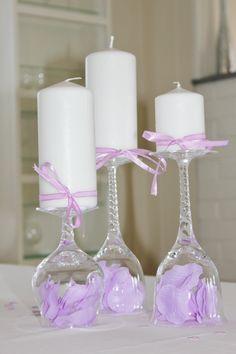 bordpynt bryllup lilla - Google-søgning
