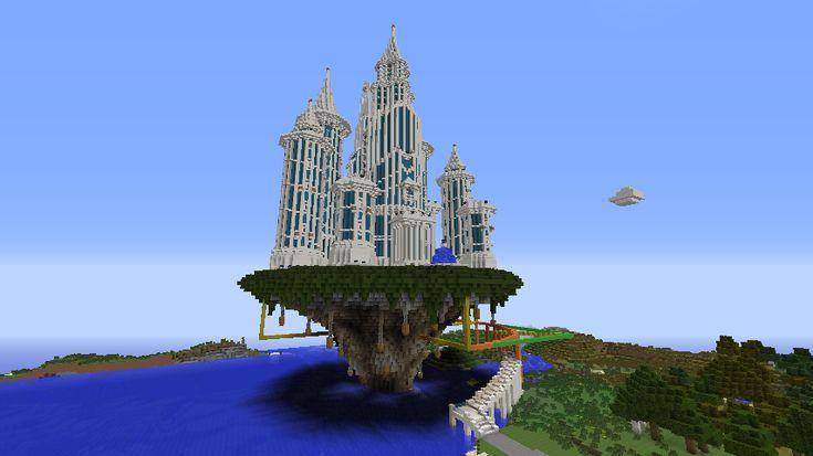 Minecraft Build - Steampunk Airship Minecraft Project |Romantic Minecraft Builds