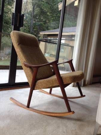 Mid Century Modern Danish Retro Rocking Rocker Chair   Http://vancouver.en