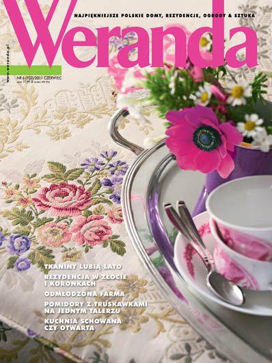 Okładka magazynu Weranda 6/2011 www.weranda.pl