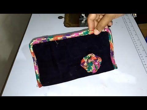 635c39f67526 DIY Designer Clutch, WA7715021990, Partywear Purse, Small Purse, Clutch Bag  make at home - YouTube