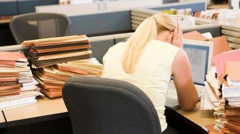 Meeste Belgen kampen met stress op het werk - Gezondheid - De Morgen