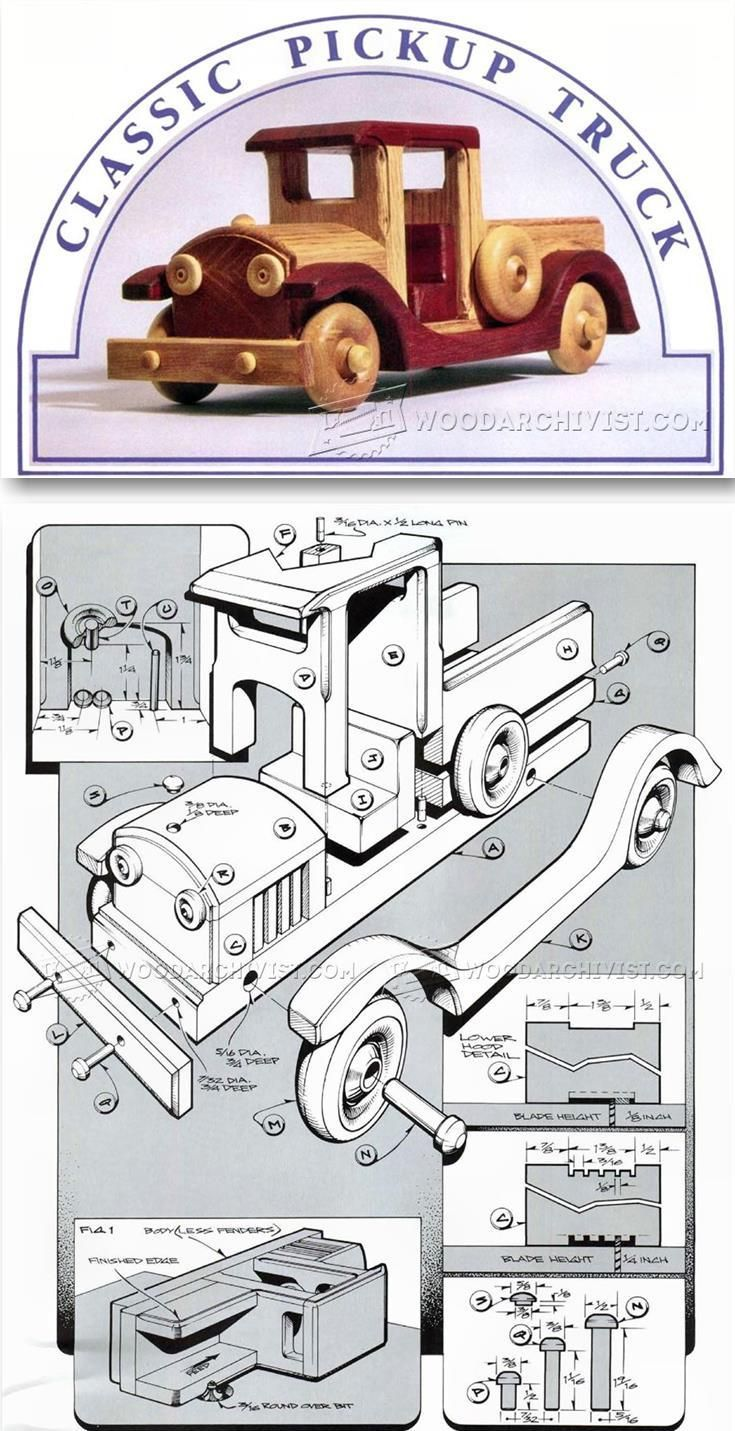 17 best images about wooden toy plans on pinterest for Toy plans