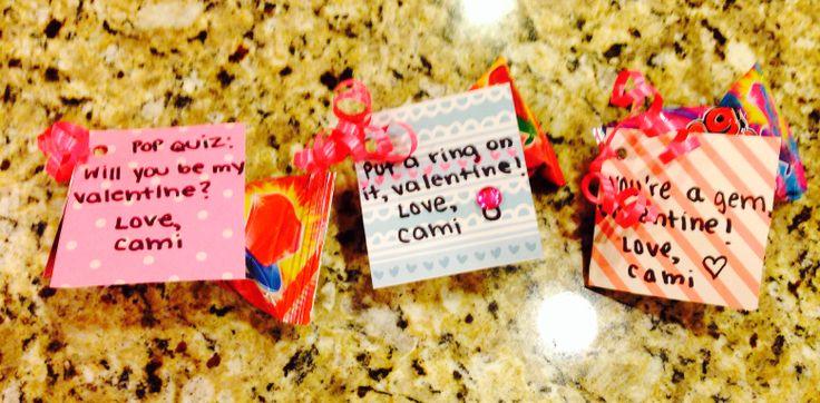 be my valentine ring pop