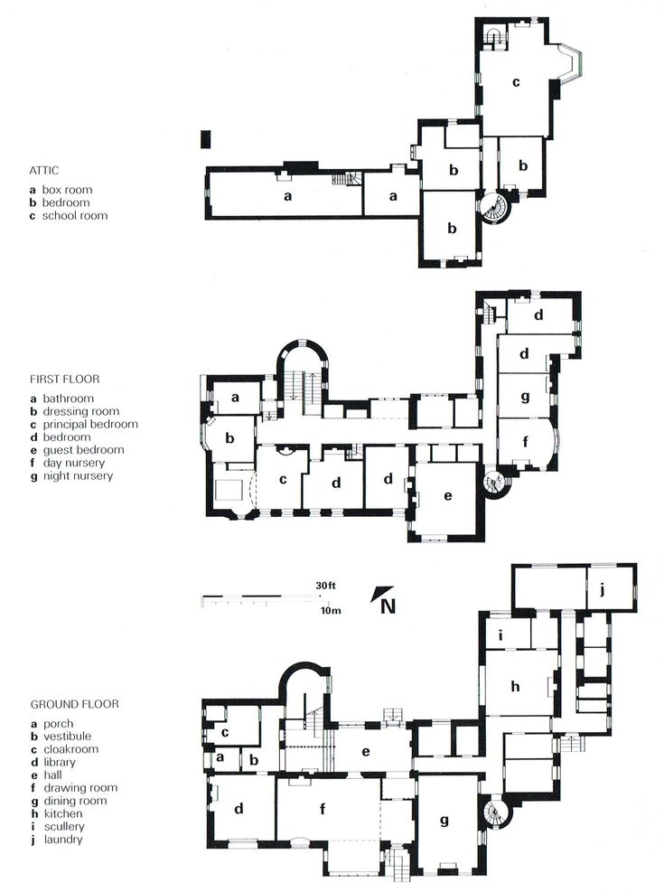 Hill house mackintosh plan images for Mansion design plans
