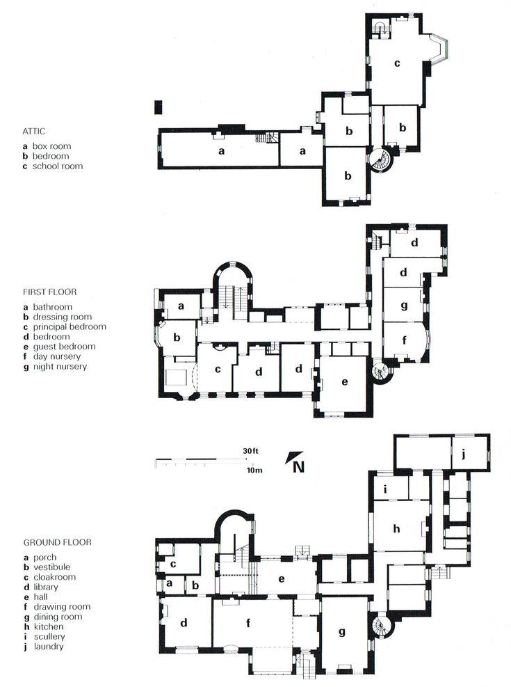 Uk Helensburgh Hill House Architect Charles Rennie