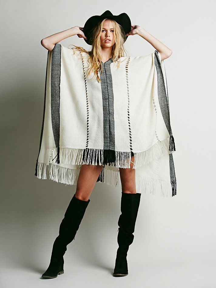 Free People Alpaca Pullover Poncho, $199.95
