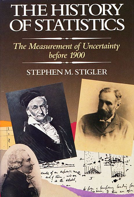 Stephen Stigler shows how statistics arose from the interplay of mathematical concepts and the needs of several applied sciences including astronomy, geodesy, experimental psychology, genetics, and sociology. His emphasis is upon how, when, and where the methods of probability theory were developed for measuring uncertainty in experimental and observational science, for reducing uncertainty, and as a conceptual framework for quantitative studies in the social sciences.