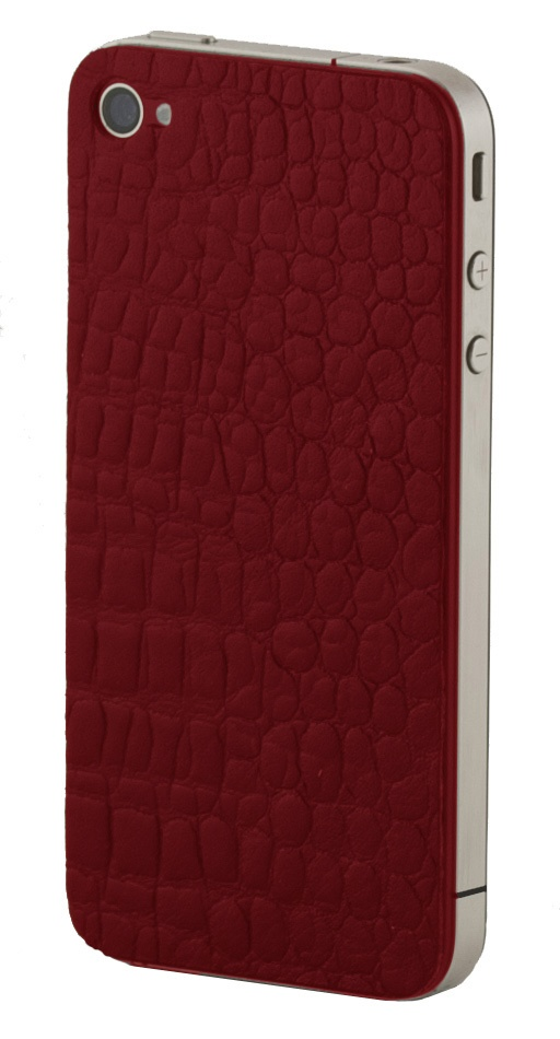 The red crocodile iPhone skind by dbramante 1928, see more of our product range at http://www.dbramante1928.com