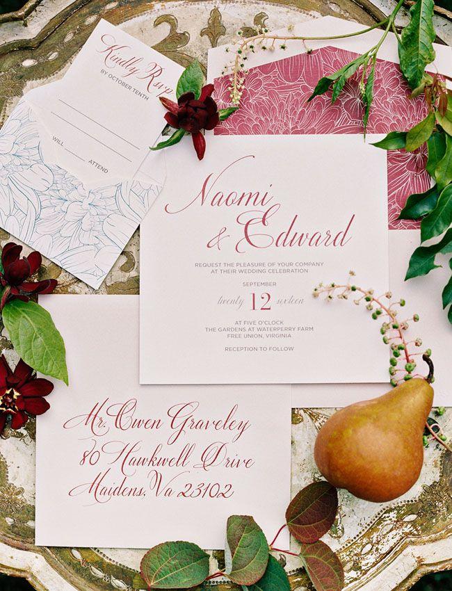 Fall Floral Wedding Inspiration 432 best Wedding