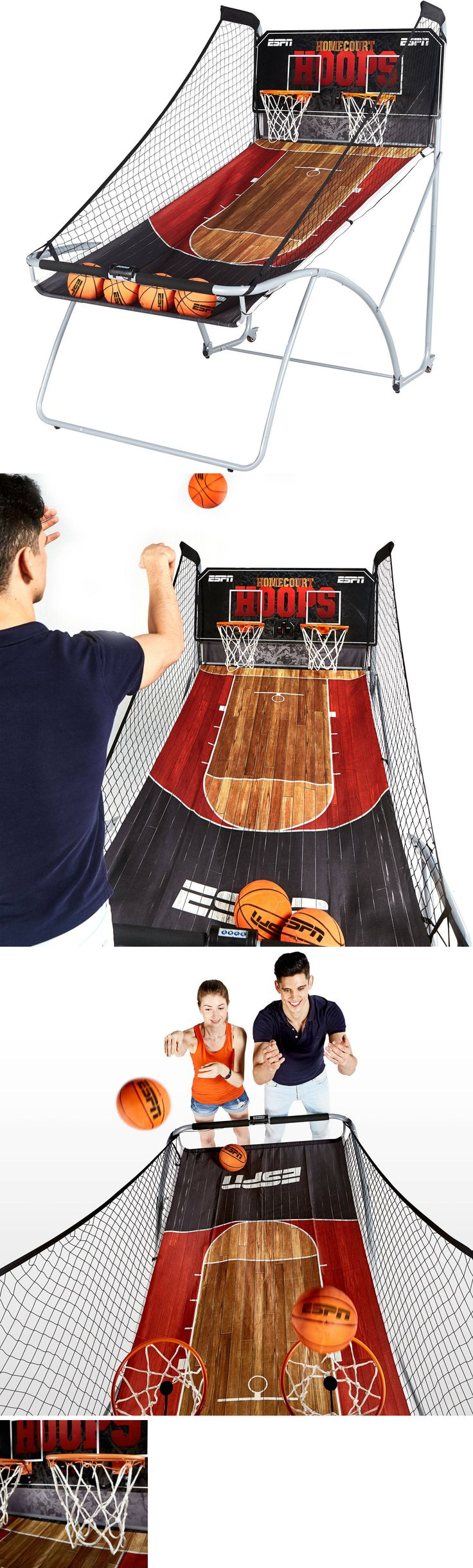 Other Indoor Games 36278: Espn Ez-Fold 2 Player Basketball Game Room Foldable Easy Storage Boys Girls New -> BUY IT NOW ONLY: $397.88 on eBay!