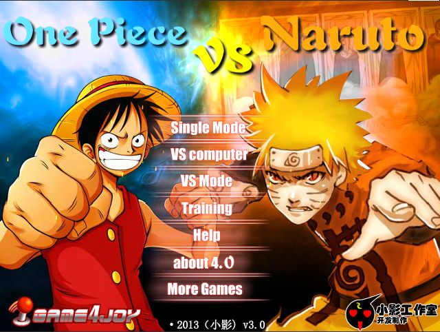 One Piece VS Naruto V3 [Flash Game for PC] - One-Piece Games | Android, PS, PC, Online