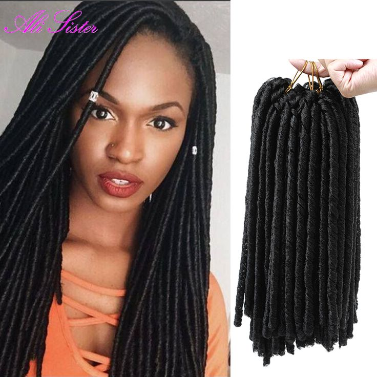 Crochet Braids Faux Locs : ... crochet braid hair faux locs ombre braiding hair hair extension for