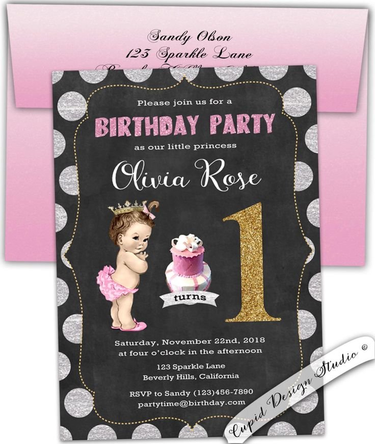 The Best Tutu Invitations Ideas On Pinterest Invitations - Birthday invitation 1 year old baby girl