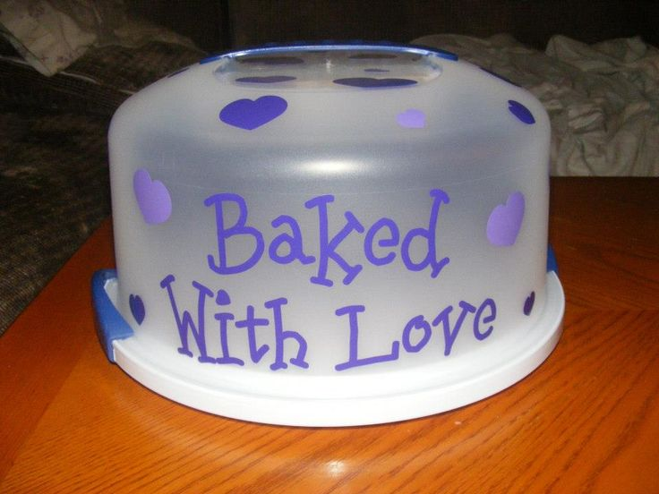 Cake Carrier: $36 Personalized just for You!