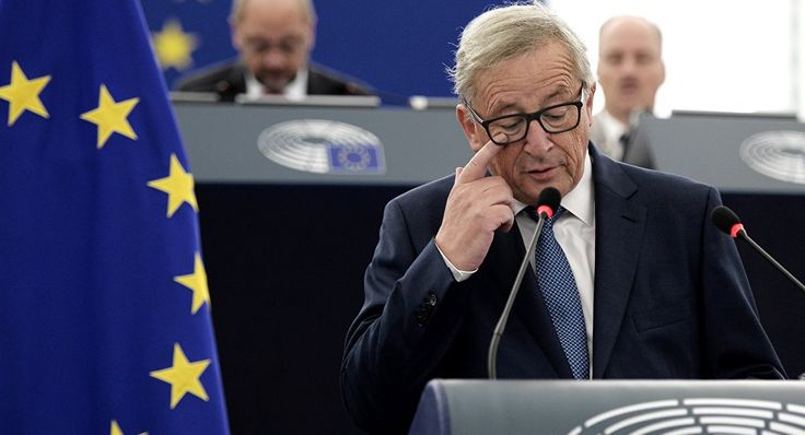 European Commissioner Jean-Claude Juncker has set himself on a path to re-energize the EU in the face of failure after failure over migrants, Turkey, trade agreements and the single currency, similar to a battle akin to that of King Cnut attempting to hold back the tide.  Read more: https://sputniknews.com/europe/201611111047346696-juncker-migrants-ttip-turkey/