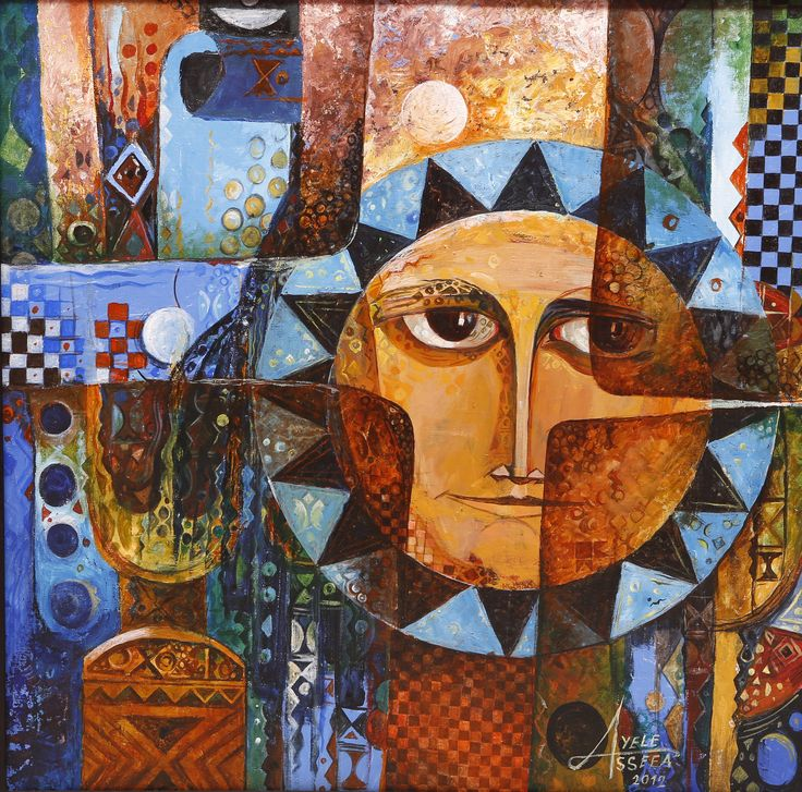 contemporary ethiopian and african paintings and art at st