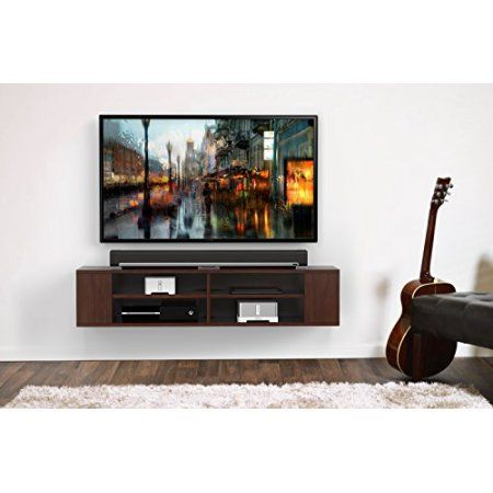 sony tv with ps4. fitueyes wall mounted audio/video console wood grain for xbox one vizio/ sumsung/sony tv brown sony tv with ps4 w