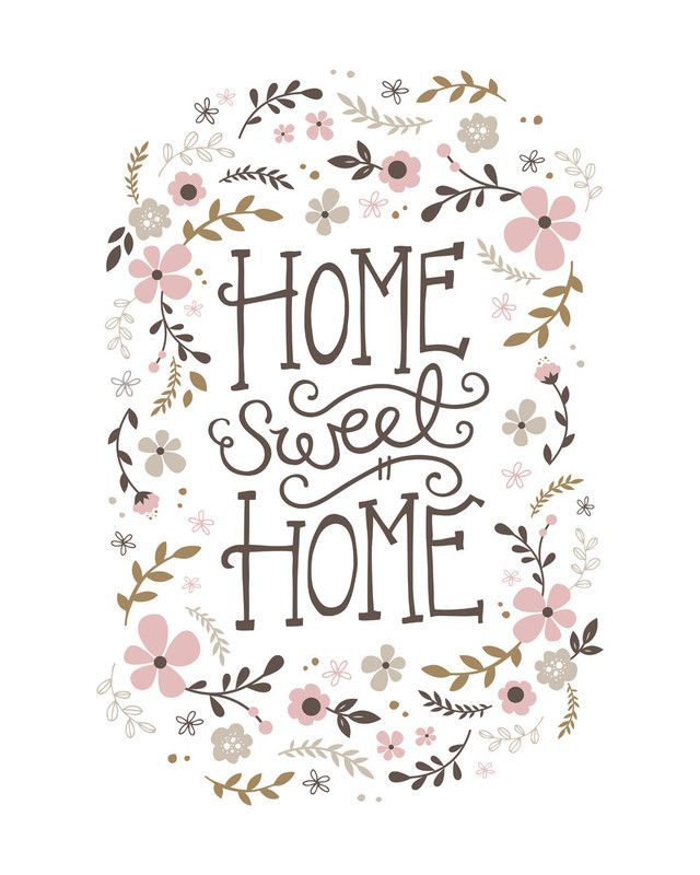 Home Sweet Home Wall Art Prints by Kristen Smith | Minted