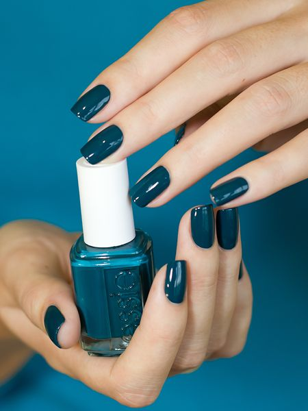 Take the plunge and 'go overboard' with your mani.
