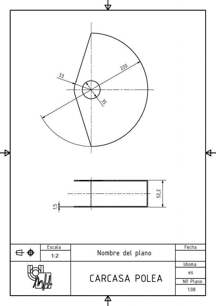 Despiece De Gancho Carcasa Polea Http Dibujotecnico Edu Umh Es 2014 07 17 Plano Conjunto Gancho Tecnicas De Dibujo Plano Conjunto Dibujo Tecnico Industrial