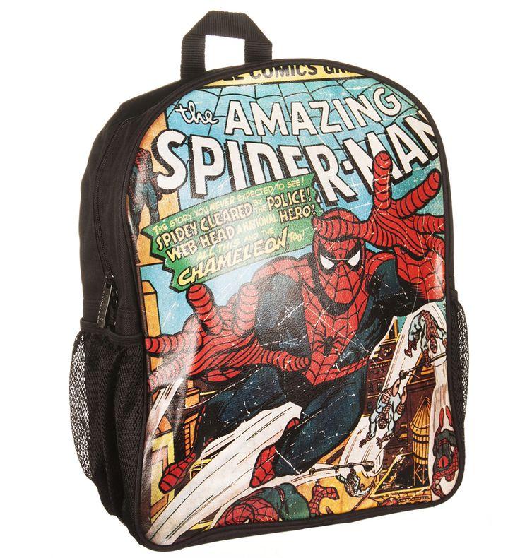 Marvel Comics Spiderman Backpack