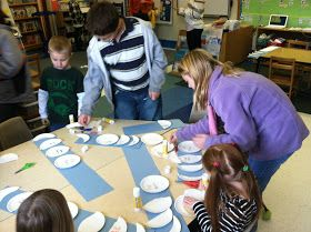 Mrs. Parzych's Kindergarten: Learning About The Phases Of The Moon From Our Big KIds