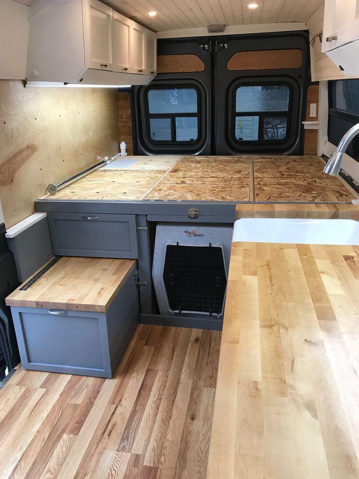 Vanbuild for Sale THE VAN 2017 Ram Promaster 2500 High Top