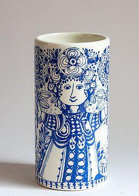 Bjorn Wiinblad, Blue Flora Vase