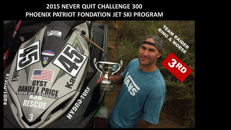 Gysgt. Daniel J. Price at the Never Quit Challenge