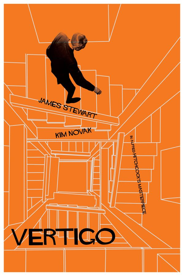 Vertigo poster by Sean Dempsey, via Behance