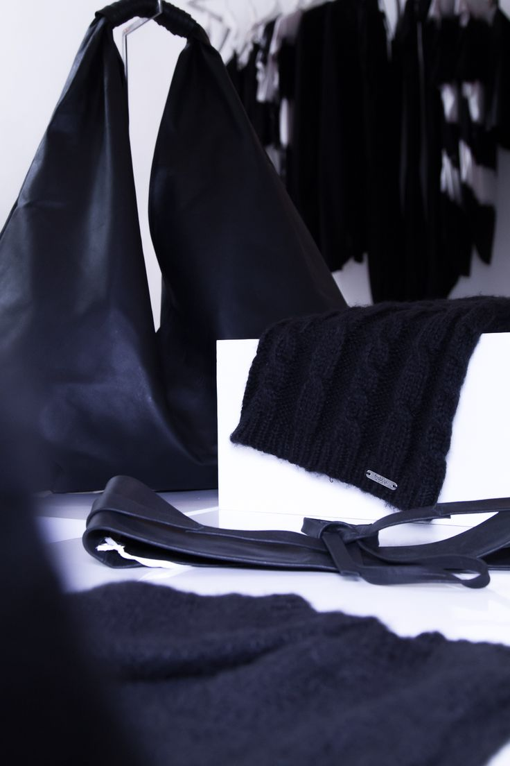 #Buddhawear #black #leather #collection | #winter #womenswear #accessories  www.buddhawear.com.au