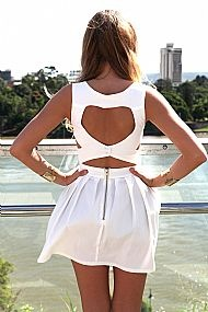 HEART CUT OUT DRESS $68 #xenia #xeniaboutique #fashion #dresses