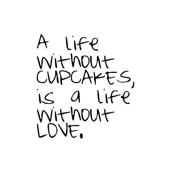 Cupcake quote by Emily, use found on Polyvore