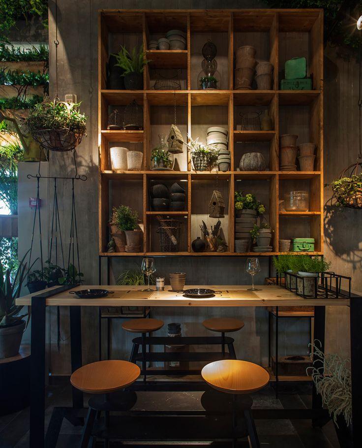 Segev Kitchen Garden By Studio Yaron Tal Restaurant Design