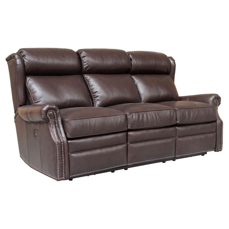 Barcalounger Southington Power Reclining Sofa with Power Head Rests - 39PH3183570088