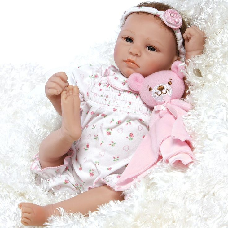 "Paradise Galleries Lifelike Realistic Soft Vinyl 20 inch Baby Girl Doll Gift ""Bundle of Joy"" Great to Reborn"