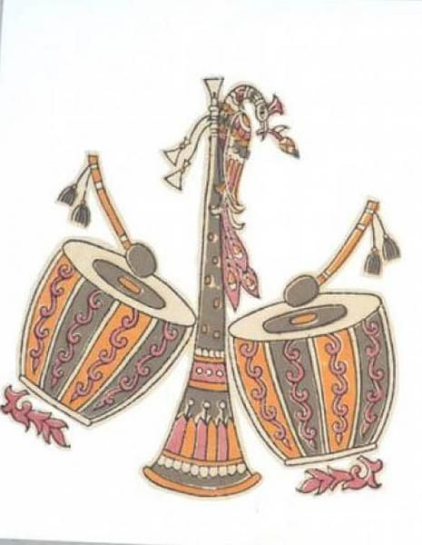 Indian Painting Styles...Kalamkari Paintings (Andhra Pradesh)-http://www.indusladies.com/forums/paintings/194965-indian-painting-styles-kalamkari-paintings-2.html