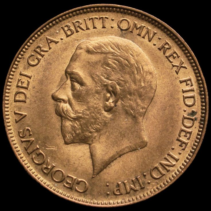 1928 George V Penny, UNC