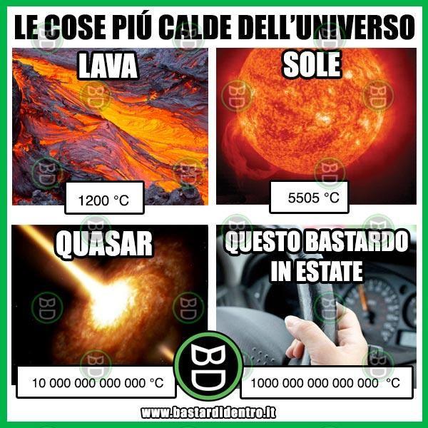Gli elementi più caldi dell'universo | BastariDentro